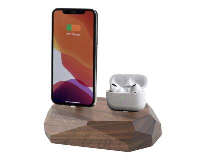 iphone dual dock oakywood 2