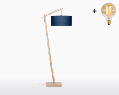 floor lamp good mojo andes with light bulb bamboo blue denim on webshop wooden amsterdam.jpg