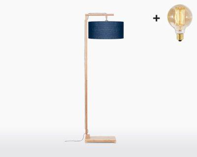 floor lamp good mojo himalaya with light bulb bamboo blue denim on webshop wooden amsterdam.jpg