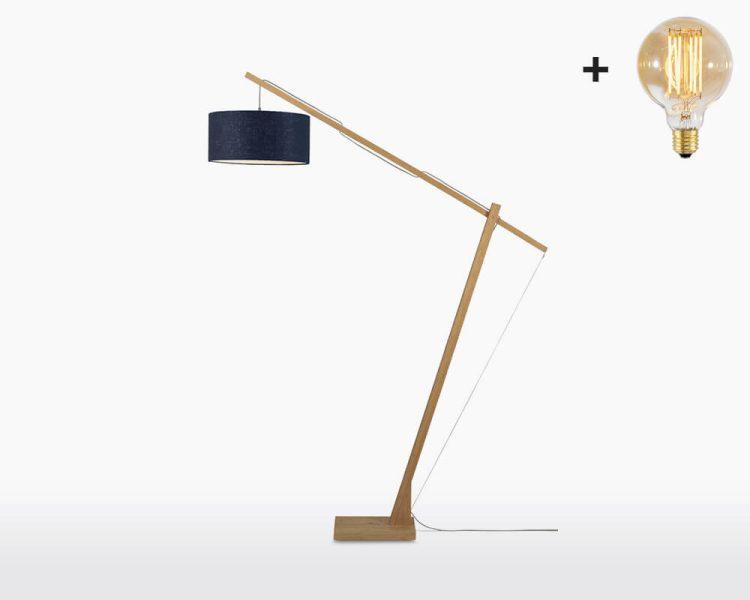 floor lamp good mojo montblanc with light bulb bamboo blue denim on webshop wooden amsterdam.jpg