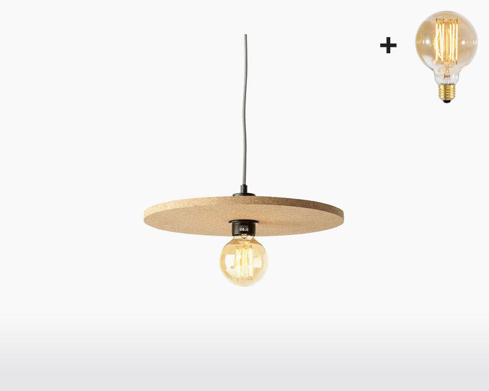 hanging lamp cork algarve good mojo h40 cm natural with light bulb on webshop wooden amsterdam.jpg