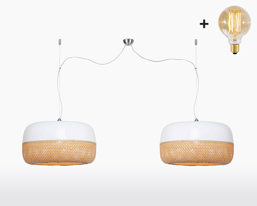 hanging lamp double good mojo mekong with light bulb bamboo h2 60 on webshop wooden amsterdam.jpg