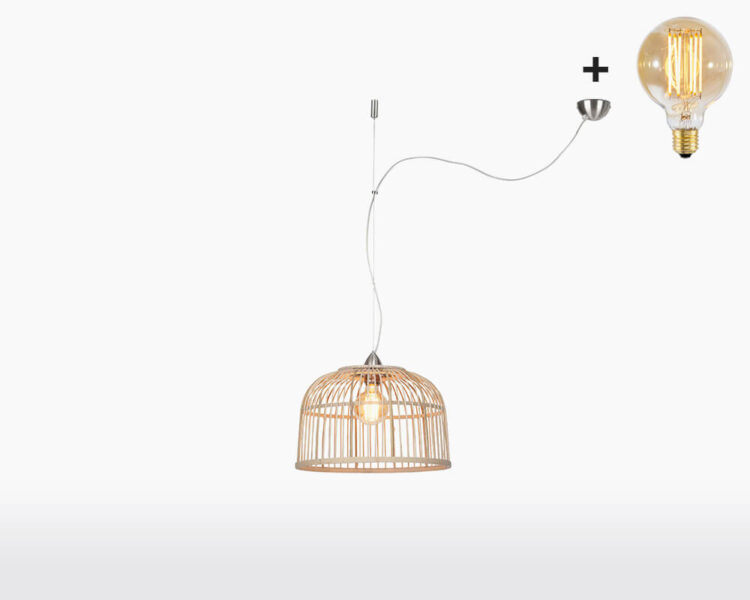 hanging lamp good mojo borneo h1 40 with light bulb bamboo on webshop wooden amsterdam.jpg