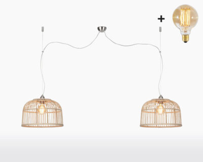 hanging lamp good mojo borneo h2 40 with light bulb bamboo on webshop wooden amsterdam.jpg