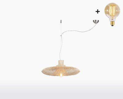 hanging lamp good mojo kalahari with light bulb bamboo h1 70 on webshop wooden amsterdam.jpg