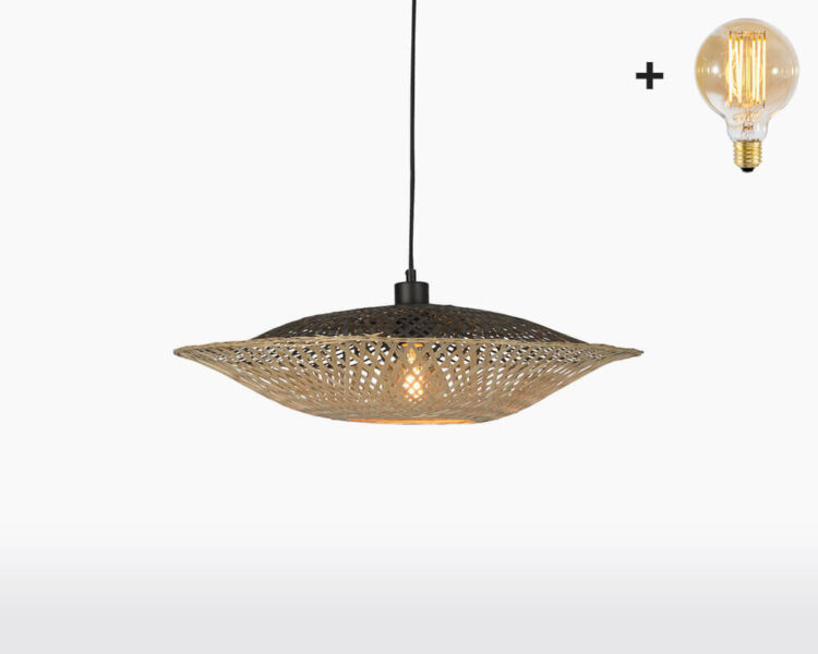 hanging lamp good mojo kalimantan with light bulb bamboo h15 on webshop wooden amsterdam.jpg