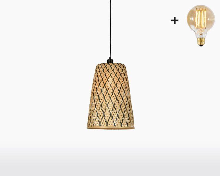 hanging lamp good mojo kalimantan with light bulb bamboo h45 on webshop wooden amsterdam.jpg