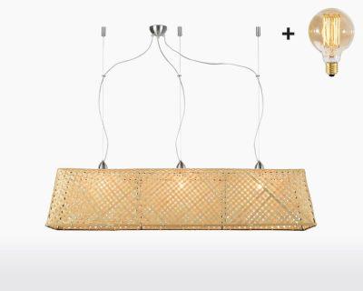 hanging lamp good mojo komodo with light bulb bamboo h30 natural on webshop wooden amsterdam.jpg