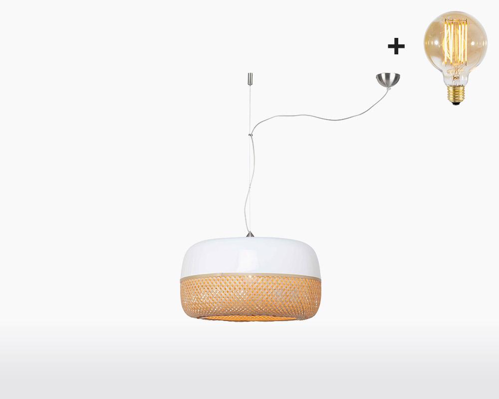hanging lamp good mojo mekong with light bulb bamboo h1 60 on webshop wooden amsterdam.jpg