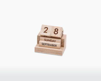 wooden calendar hansa nkuku mango wood on webshop wooden amsterdam.jpg