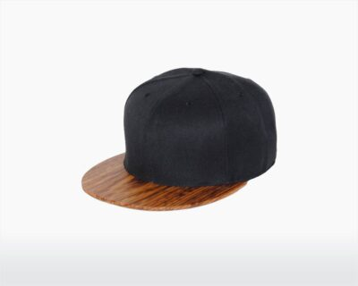 wooden cap with zebrano brim and midnight black wool yardhead two o on wooden amsterdam.jpg