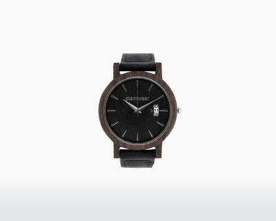 plantwear wooden watch royal series black oak front on webshop wooden amsterdam.jpg