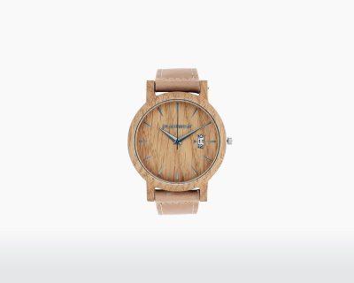 plantwear wooden watch royal series oak front on webshop wooden amsterdam.jpg