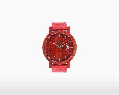 plantwear wooden watch royal series padouk front on webshop wooden amsterdam.jpg