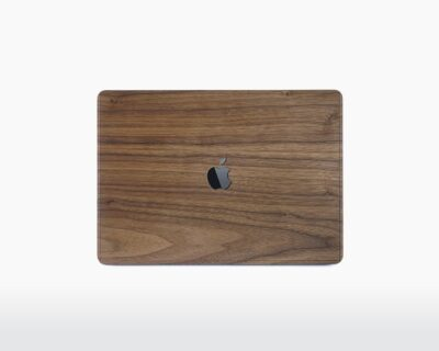 rauw wooden apple macbook cover walnut front on webshop wooden amsterdam.jpg