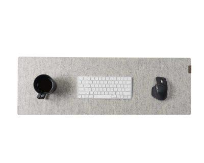 desk mat felt cork oakywood large grey 2