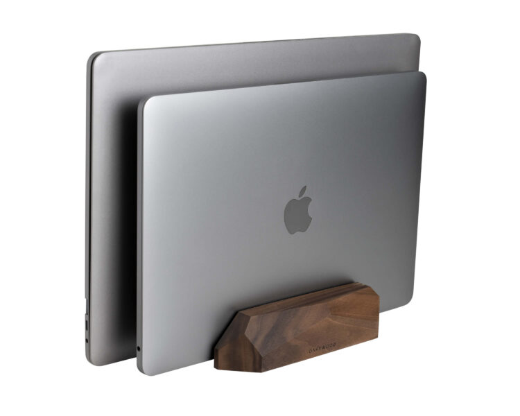 dua; desk dock oakywood walnut 1